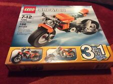 Lego 7291 Creator Street Rebel Motorcycle Retired NEW
