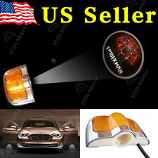 2x 6th Car Door Led Welcome Laser Projector Logo Ghost Shadow Light - Spiderman