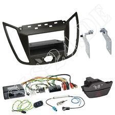 FORD C-MAX KUGA 2-din Pannello Radio + SCOMPARTO MARRONE VOLANTE Interface CLARION SONY Zenec