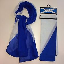 Scottish Saltire, Flag Scarf, Great For Sports Fans, Come On Caledonia!
