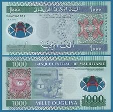 Mauritania 1000 Ouguiya P 19 2014 UNC Low Shipping! Combine FREE! (New)