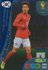 N°344 CHU-YOUNG  FANS KOREA REPUBLIC PANINI CARD ADRENALYN WORLD CUP BRAZIL 2014