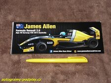 James ALLEN - 2014 Formula Renault 2.0 Sticker/Aufkleber