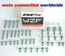 NEW RFX TRACK PACK OEM TYPE BOLTS & FASTENERS KIT YAMAHA YZ80 YZ125 YZ250 2001