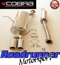 Cobra Sport BMW 318i E46 Coupe Stainless Steel Cat Back Exhaust System 2.25""