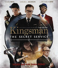 Kingsman The Secret Service NEW Blu-ray Disc/case/cover-no digital/slip 2015