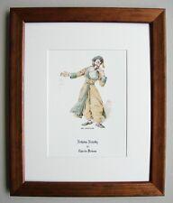 Di alta qualità incorniciato kyd stampa MR mantalini da Charles Dickens in una nuova cornice