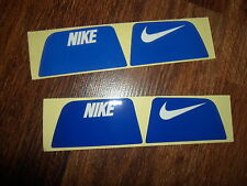 Nike Visionshield Visor for ROYAL BLUE Football Helmet Licensed Decals (2) Sets