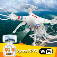 Syma X8W Explorers RC Quadcopter Drone WiFi FPV 4CH 6-Axis Gyro w/2MP Camera RTF