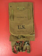 WWII US Army M1928 Haversack Pack Khaki Color Complete - Marked Boyt -42- Nice 2