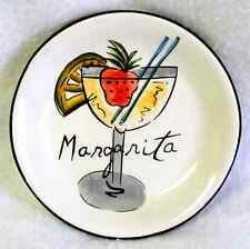 HAUSENWARE Appetizer Canapé Snack Plate MARY JANE MITCHELL Margarita