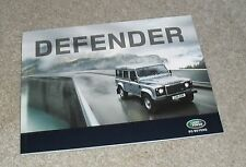 BROCHURE LAND ROVER DEFENDER 2010 - 90 110 PICK UP STATION WAGON Hard Top