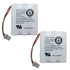 2x 600mAh Cordless Phone Battery For Panasonic P-P501 P-P504 Uniden BT-905 USA