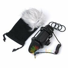 BOYA BY-V02 Stereo Condenser Microphone Mic Windshield For Video Camera Shooting