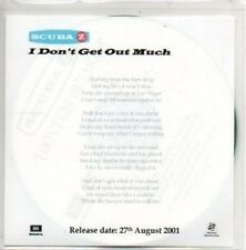(AL583) Scuba Z, I Don't Get Out Much - DJ CD