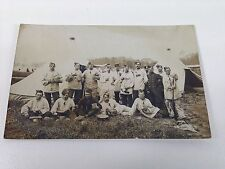 CPA  PHOTO GUERRE 1914-1918 SOLDATS MILITAIRES