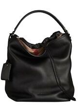 Burberry Ashby Medium Leather Hobo Bag NWT