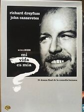 WHO'S LIFE IS IT ANYWAY ~ 1982 Classic ~ Spanish DVD Slipcover ONLY