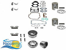 Johnson Evinrude 40 50 60 HP 2 Cyl Powerhead Piston Gasket Bearing Rebuild Kit