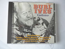 BURL IVES  GALISTEO  CD
