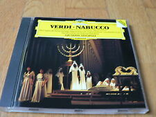 Sinopoli - Verdi : Nabucco - Extraits - Higlights - Domingo - CD DGG