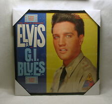 "ELVIS PRESLEY Framed Album Cover / Jacket ""G.I. Blues"" 12x12 (1960) Rock & Roll"