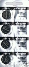 4 New ENERGIZER CR1632 Lithium 3v Coin Battery Australia Stock FAST SHIPPING