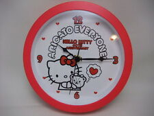 Sanrio Hello Kitty 2014 desk clock wall clock  Japan new cute