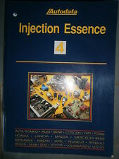 livre injection essence Autodata 1995 n°4