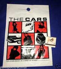 vintage The Cars Candy-O PROMO MATCHES matchbook Elektra Vargas+'78 shopping bag