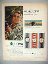 Bulova Watch PRINT AD - 1959 ~~ watches, wristwatch ~~ 23