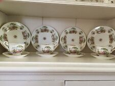 Royal Crest Fine Bone China 12 pc  Luncheon Set -made In England- Service For 4