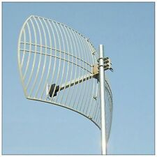 long range 24dBi 2.4Ghz Wireless Grid Parabolic Antenna N Female RLKP-2400-D24