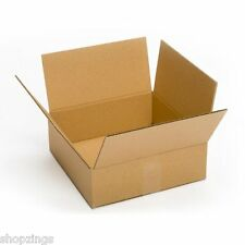 25 Pack 10X10X4 Cardboard Box Packing Shipping Mailing Storage Moving Cartons