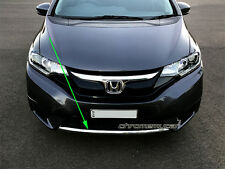 Chrome Front Lower Bumper Molding Garnish Protector for Honda Jazz FIT GF 14-17