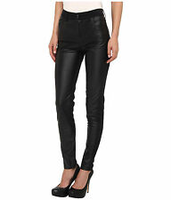NWT! Alexander McQueen Hybrid Synthetic Black Skinny Pants - Size 31