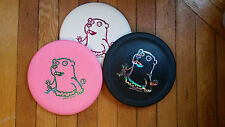 "BLACK Perry Bible Fellowship PBF ""Crazy"" Gopher Flying Disc Golf Putter"