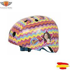 TOBY SOY LUNA Casco de Protección Patines Bicicleta Niña Moon Helmet