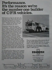 6/1979 PUB OSHKOSH TRUCK CRASH FIRE RESCUE VEHICLE BOEING ORIGINAL AD