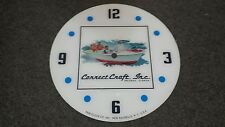 "*NEW*14.25"" CORRECT CRAFT MARINE BOAT WATERCRAFT ROUND GLASS FACE FOR PAM CLOCK"