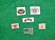 1/6 US Navy Seal Team Special Boat Unit 20 SBU insignia patches