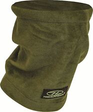 Military army Fleece NECK GAITER Scarf snood hat Olive or Camo Tube