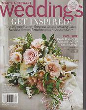 MARTHA STEWART WEDDINGS MAGAZINE WINTER 2013, GET INSPIRED! BRAND NEW NO LABEL.
