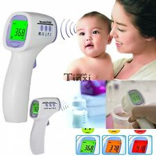 Body Skin Digital Non-contact Infrared IR Thermometer For Baby Kids Adult TXEN