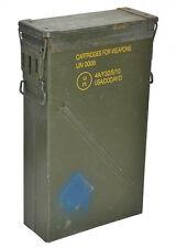 Lange schmale US Army Munitionskiste Größe 6a Metallkiste GC Versteck Gebraucht