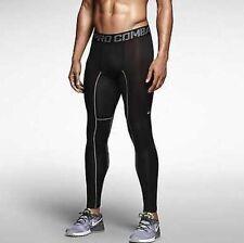 BNWT Hombres Nike Pro Hypercool impresión Running Mallas, gimnasio entrenamiento, Pequeño