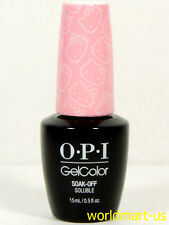 OPI GELCOLOR UV/LED HELLO KITTY COLLECTION* Color GC H84- Small + Cute = Heart