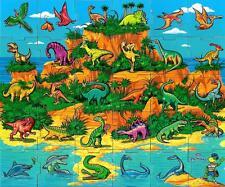 2015 - Danonki Ukraine - Magnetpuzzle - Insel der Dinosaurier -SEHR RARR