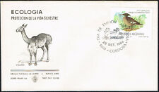 3124 ARGENTINA FDC COVER 1984 BIRD ECOLOGY