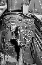 WW2 Photo Picture German Fighter Messerschmitt Me 262 cokpit 328